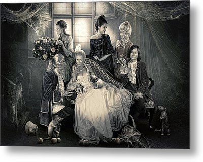 Mystical Family Metal Print by Cindy Grundsten