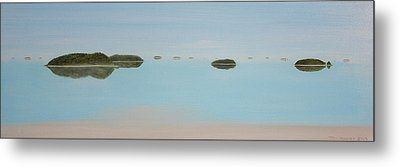 Mystical Islands Metal Print