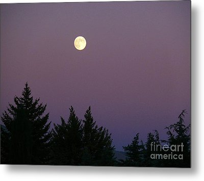 Mystical Moon Metal Print by Jacquelyn Roberts
