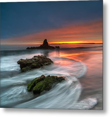 Mystical Sunset 2 Metal Print by Larry Marshall