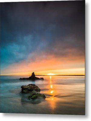 Mystical Sunset Metal Print by Larry Marshall