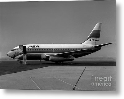 N462gb Boeing 737 At Long Beach California Metal Print