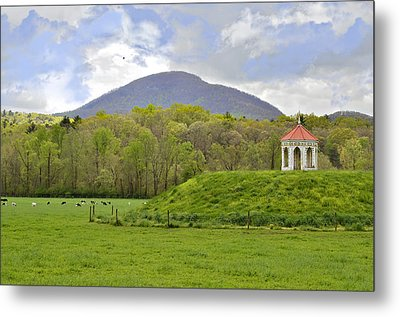 Nacoochee Indian Mound Metal Print by Susan Leggett