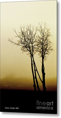 Naked Trees 1 Metal Print