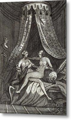 Naked Women, 17th Century Artwork Metal Print