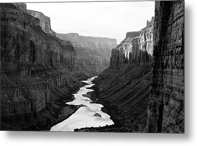 Metal Print featuring the photograph Nankoweap B-w by Atom Crawford
