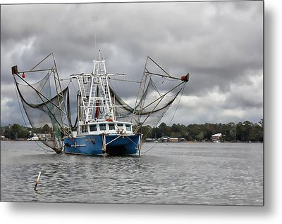Nanny Granny On The Bon Secour River Metal Print by Lynn Jordan