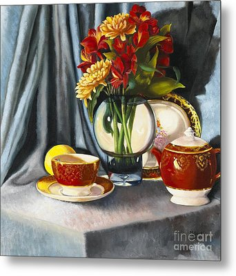 Metal Print featuring the painting The Legacy by Marlene Book