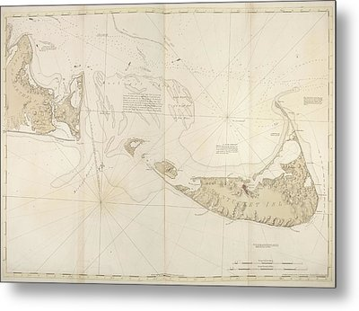 Nantucket Island Metal Print by British Library