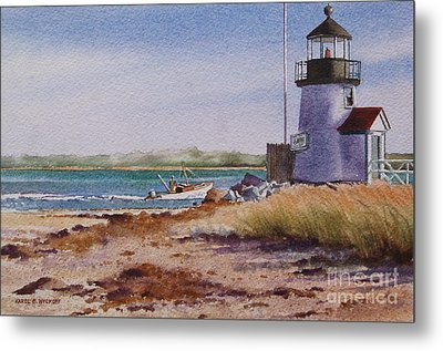 Nantucket Winter Light Metal Print by Karol Wyckoff
