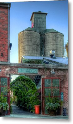 Napa Mill Metal Print by Bill Gallagher