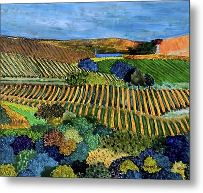 Napa Valley Autumn Metal Print