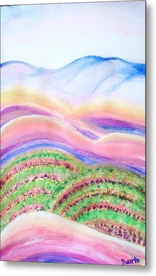 Napa Valley Metal Print by Carol Duarte