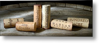 Napa Valley Favorites Metal Print