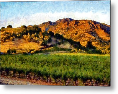 Napa Valley Metal Print by Kaylee Mason
