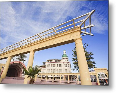 Napier New Zealand Art Deco Metal Print by Colin and Linda McKie