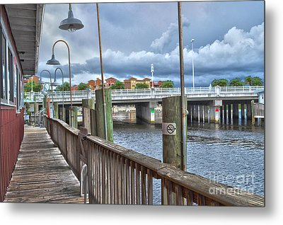 Naples Florida Waterfront Metal Print by Timothy Lowry