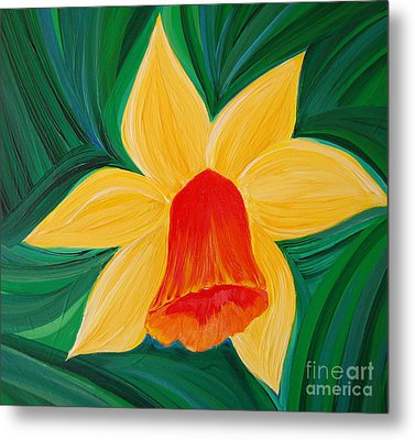 Narcissus Diva By Jrr Metal Print by First Star Art