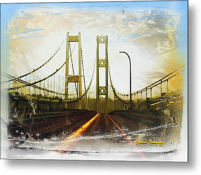 Metal Print featuring the photograph Narrow Escape by Sadie Reneau