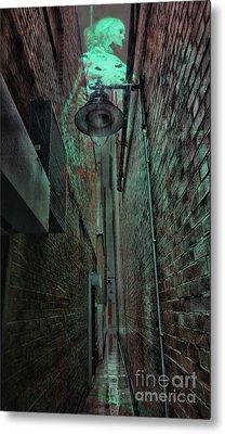 Narrow Street Metal Print by Jasna Buncic