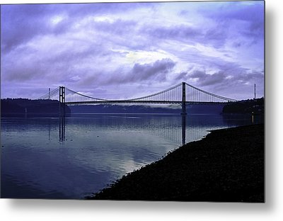 Narrows Bridge Metal Print by Anthony Baatz