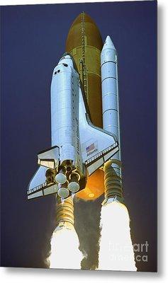 Nasa Atlantis Launch 2 Metal Print