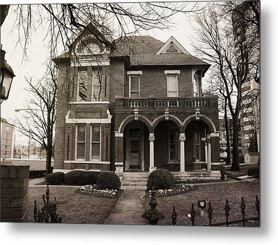 Nashville Law Architecture Metal Print by Glenn McCarthy Art and Photography