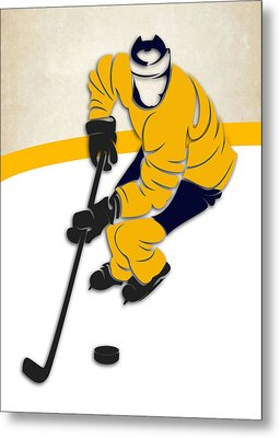 Nashville Predators Rink Metal Print by Joe Hamilton