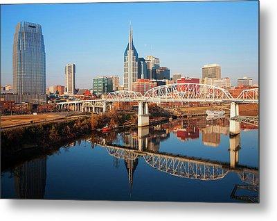 Nashville Skyline, Tennessee Metal Print
