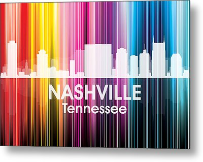 Nashville Tn 2 Metal Print by Angelina Vick