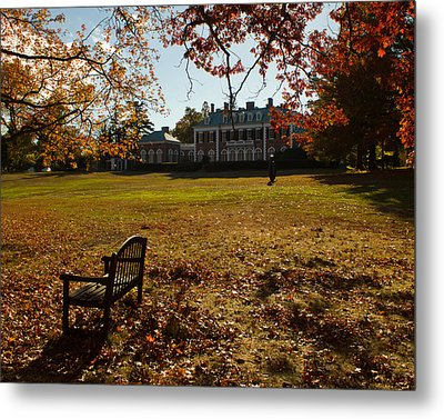 Metal Print featuring the photograph Nassau County Museum Of Art by Jose Oquendo