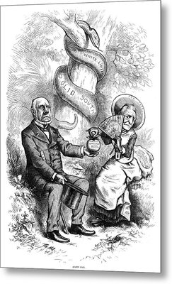 Nast Election, 1876 Metal Print by Granger