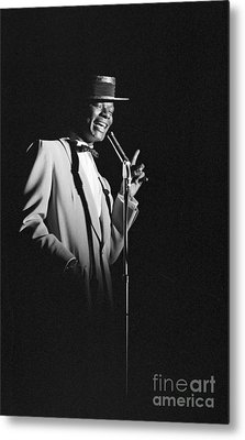 Nat King Cole Performing In 1954 Metal Print
