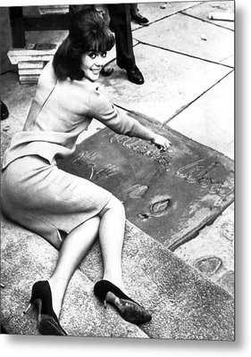 Natalie Wood Hollywood Square Metal Print by Retro Images Archive