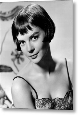 Natalie Wood With Short Hair Metal Print by Retro Images Archive