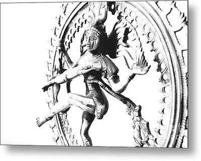 Nataraj Metal Print by Vineesh Edakkara
