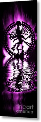 Nataraja The Lord Of Dance Metal Print by Tim Gainey