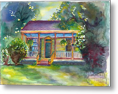 Natches State Cottage Metal Print