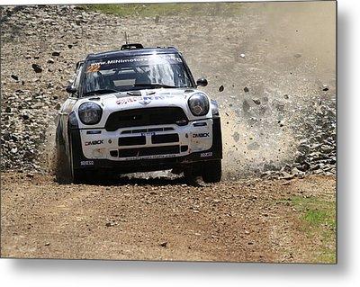 Nathan Quinn Fia World Rally Championship Australia 2013 Metal Print by Noel Elliot
