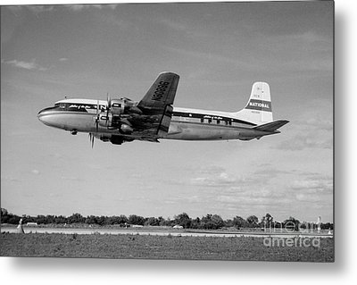 National Airlines Nal Douglas Dc-6 Metal Print