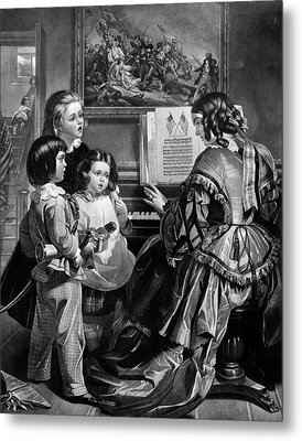 National Anthem, C1861 Metal Print