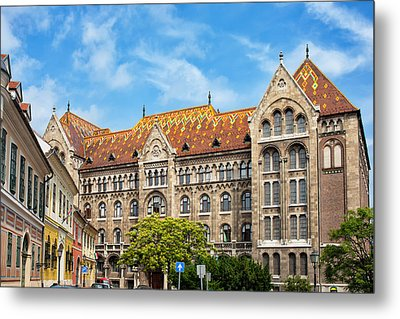 National Archives Of Hungary Metal Print by Artur Bogacki