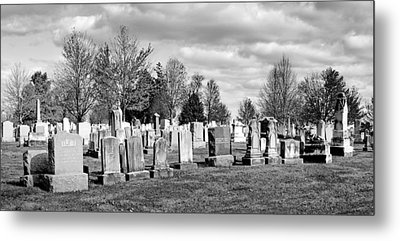 National Cemetery - Gettysburg Battlefield Metal Print by Brendan Reals