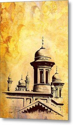 National College Of Arts Lahore Metal Print