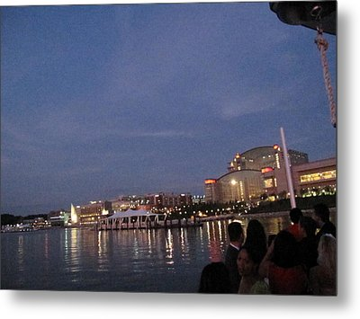 National Harbor - 121223 Metal Print by DC Photographer