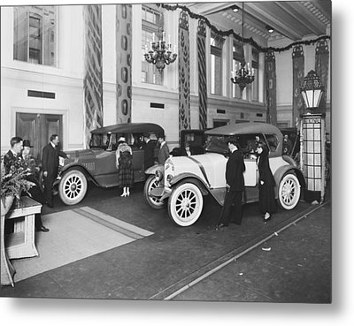 National Motor Vehicle Company Metal Print by Underwood Archives