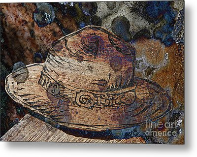 National Park Service Ranger Hat Metal Print by John Stephens