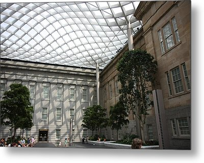 National Portrait Gallery - Washington Dc - 01132 Metal Print by DC Photographer