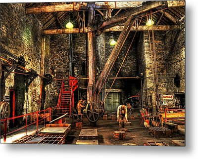 National Slate Museum Metal Print by Svetlana Sewell
