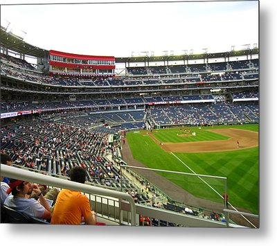 Nationals Park - 01134 Metal Print by DC Photographer